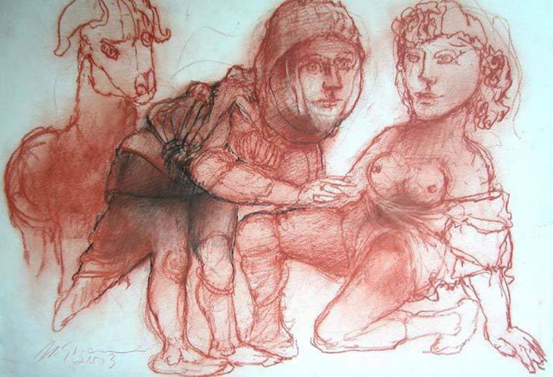71 desenho de Marcello Grasmann