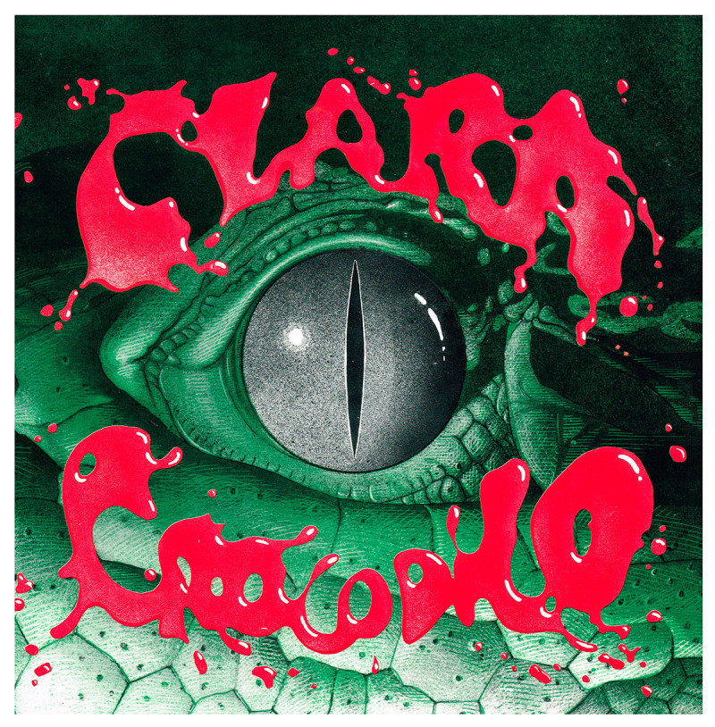 Capa Clara 01A2 Crocodilo Vinil