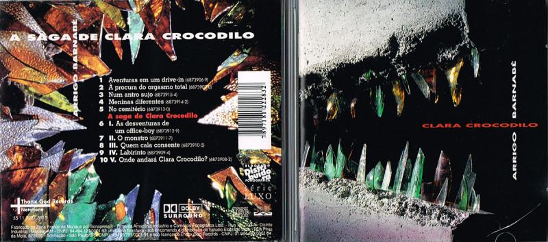 Clara II encarte dupla 16-2 no CD