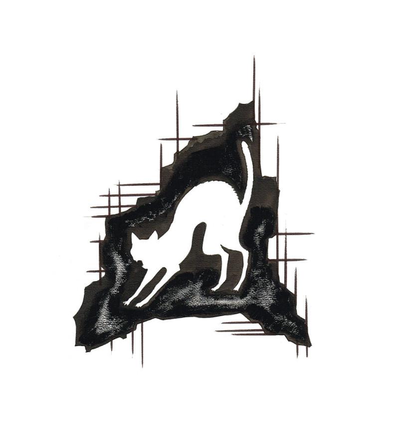 E A Poe 6 o gato preto 1