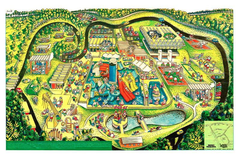 F Mapa do Sesc Itaquera impresso