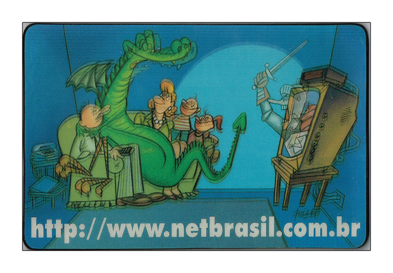 NET MousePad de HQ interativa do  Site da Net