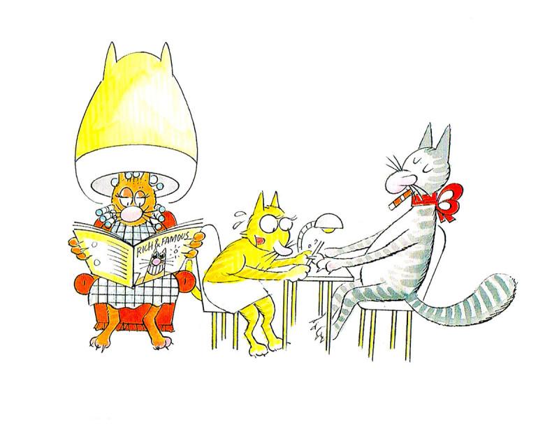 Top Cat folheto (1c)