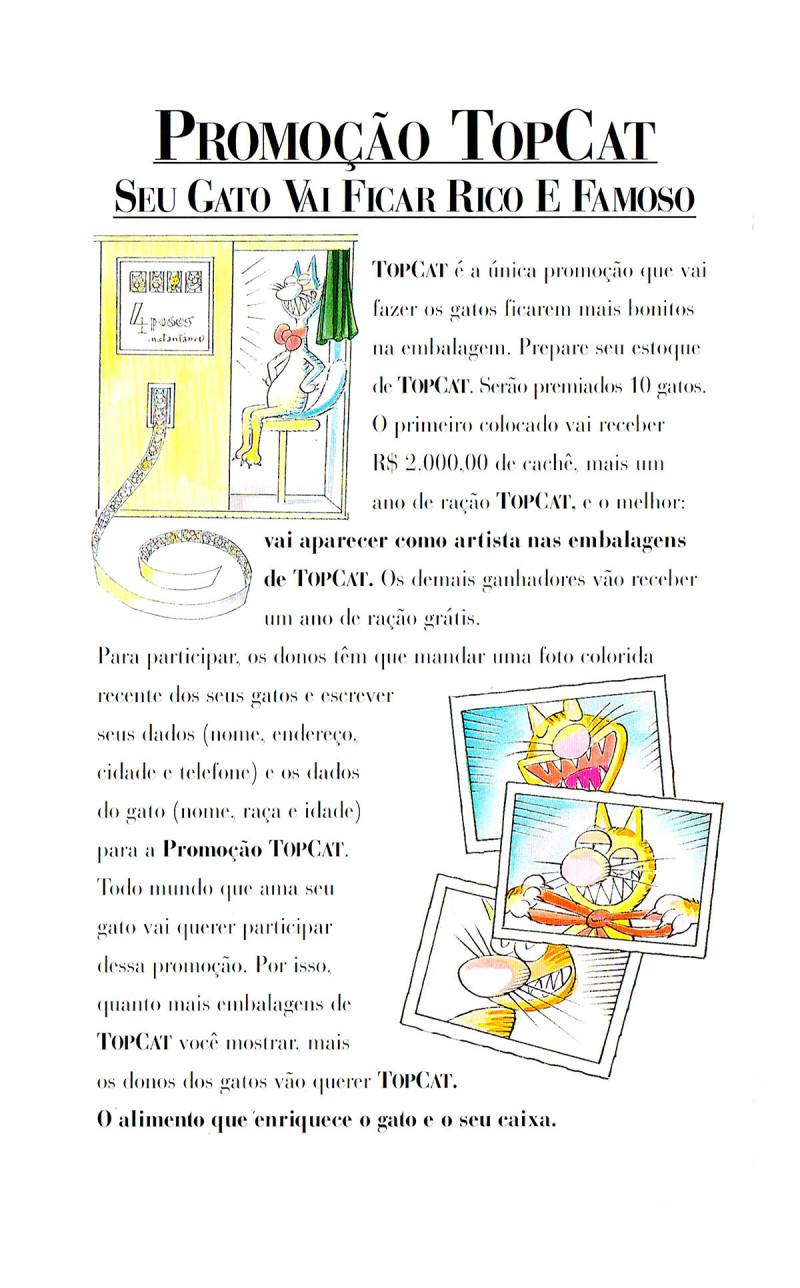 Top Cat folheto (5b)