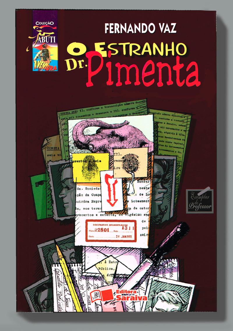 capa (22) O estranho Dr. Pimenta