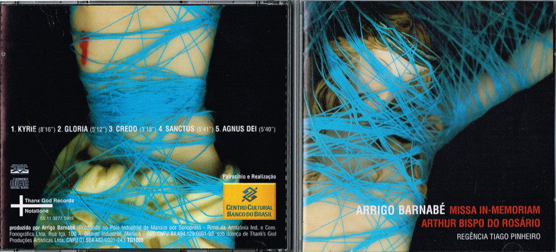 capa e contracapa  no CD refazer