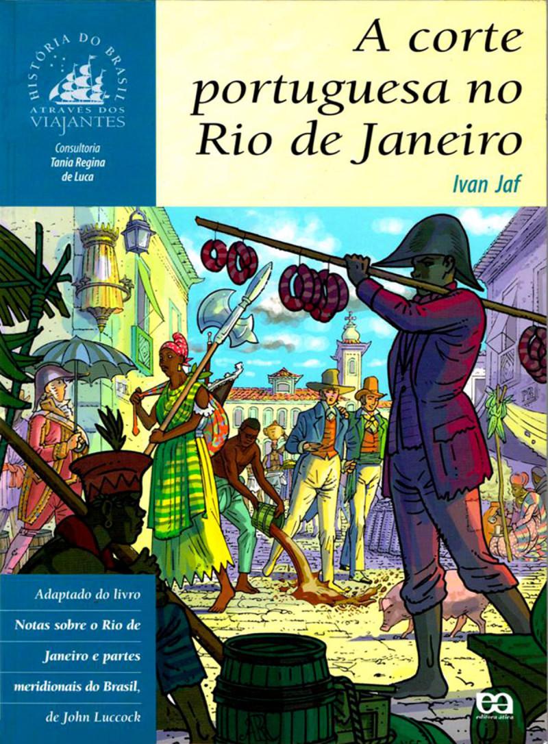 corte portuguesa no Rio1 capa