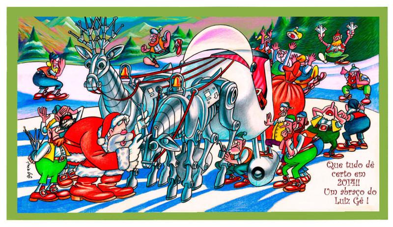E Cartao de Natal e Feliz 2014