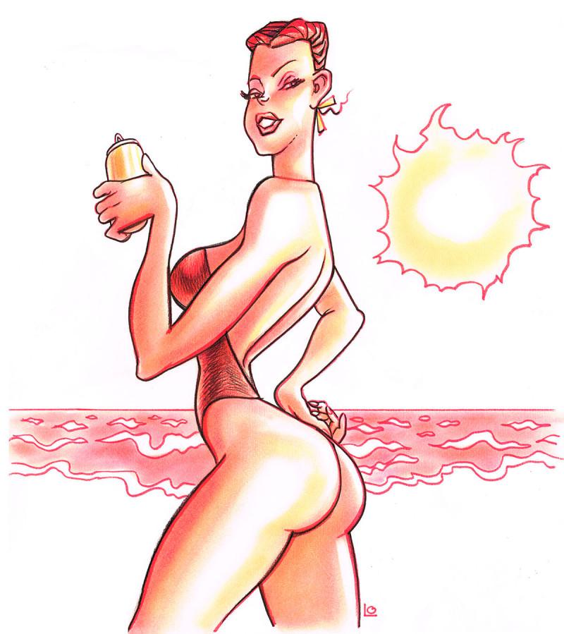 mulheres Nazca cerveja 1